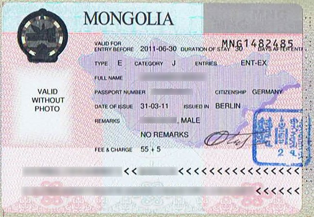 Visa-Mongolia