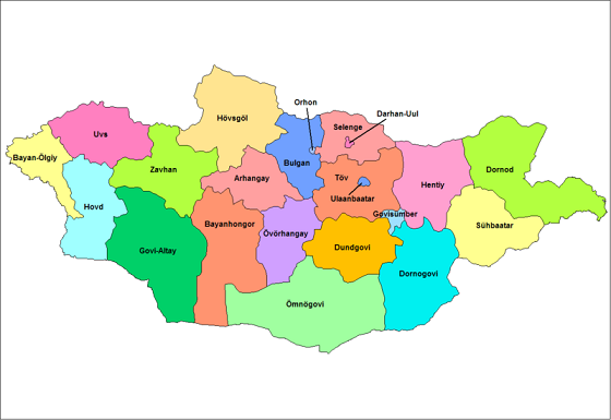 mongolia_provinces